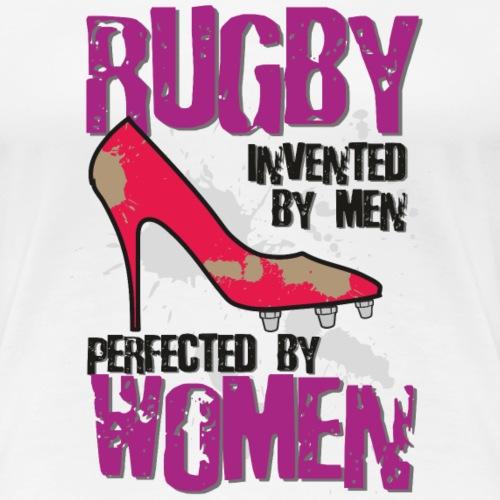 Rugby Perfected by Women MarPlo - Maglietta Premium da donna
