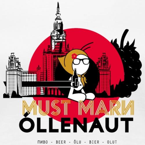 Õllenaut Must Mari - Women's Premium T-Shirt