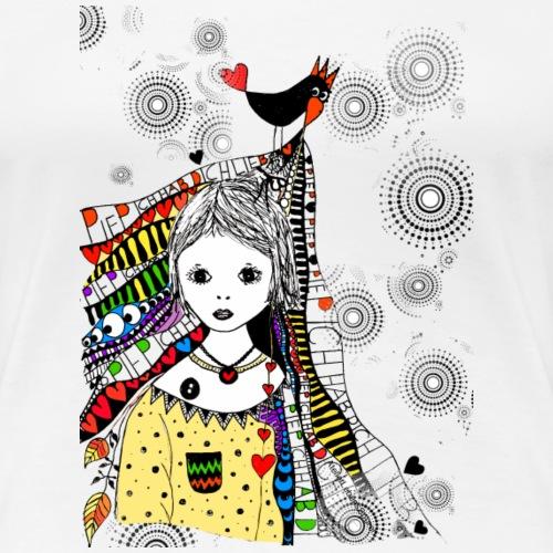Piep, ich hab dich lieb - Frauen Premium T-Shirt