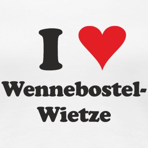 I Love Wennebostel-Wietze - Frauen Premium T-Shirt