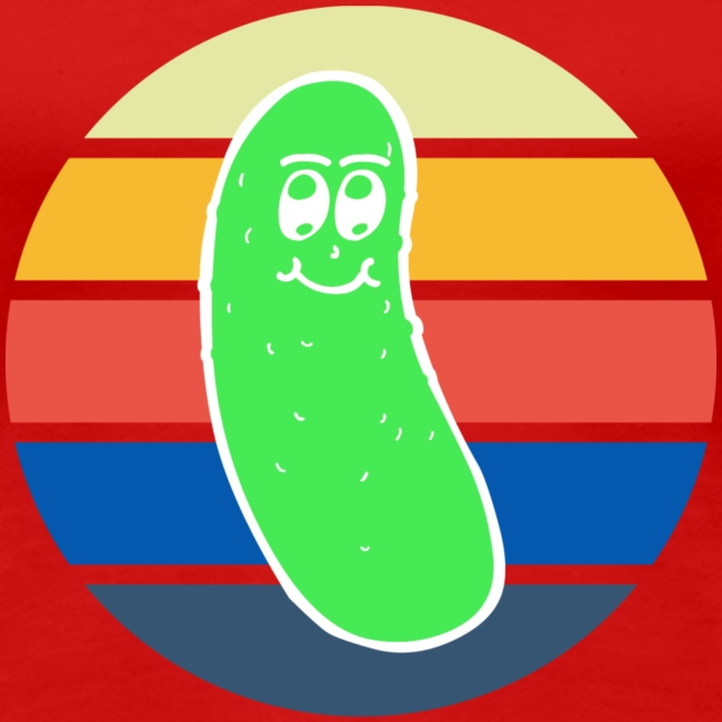 Vintage Colored Pickle #3