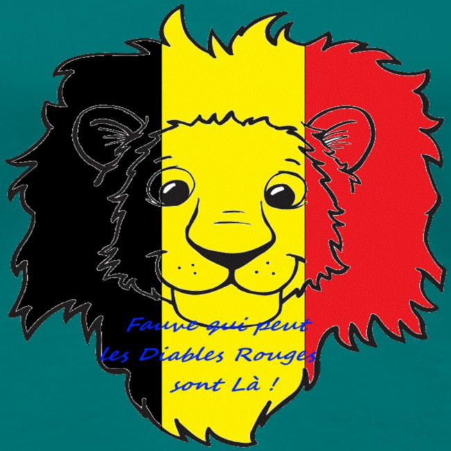 Lion supporter Belgique