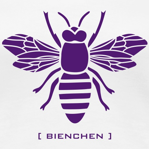 biene sabine honig imker waben hummel wespe insekt - Frauen Premium T-Shirt