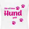 Frauen - T-Shirts Foto by Hundefan.Shop - das Original