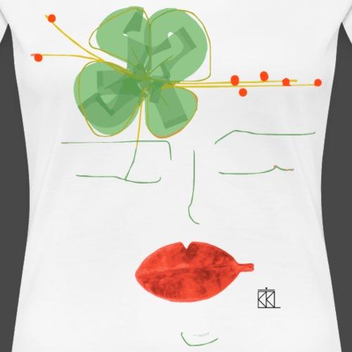 MòKIKA FACCE DI MòKIKA VOLTI ACQUA E SAPONE AS3 - Maglietta Premium da donna