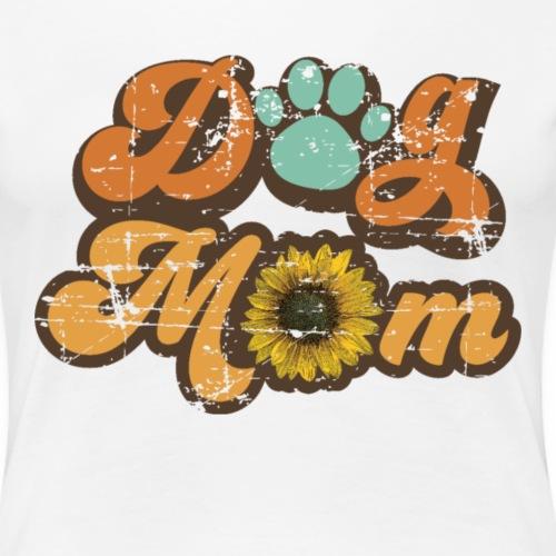 Dog mom - Vrouwen Premium T-shirt