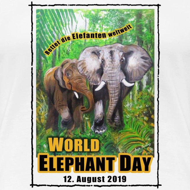 Welt-Elefanten-Tag 12. August 2019