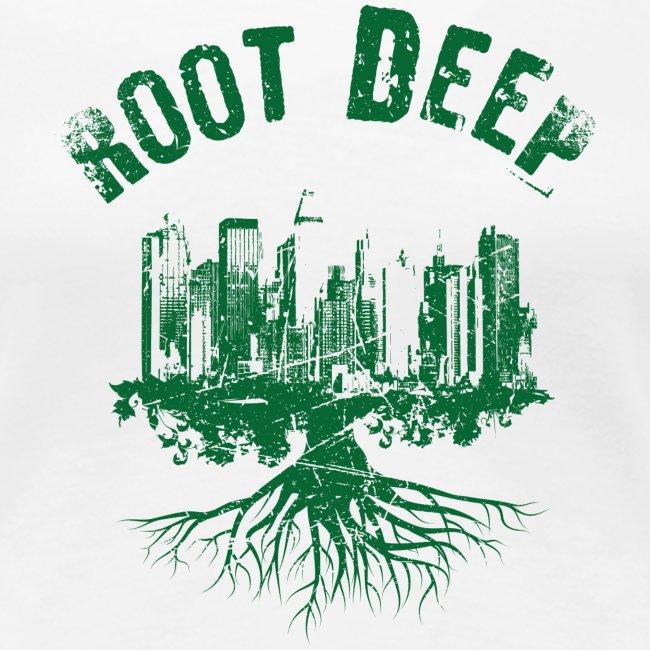 Root deep Urban grün