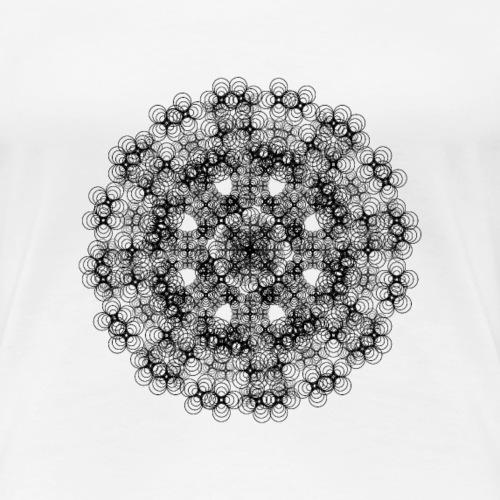 Flower mix - Dame premium T-shirt