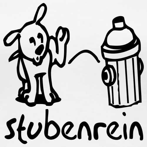 stubenrein - Frauen Premium T-Shirt