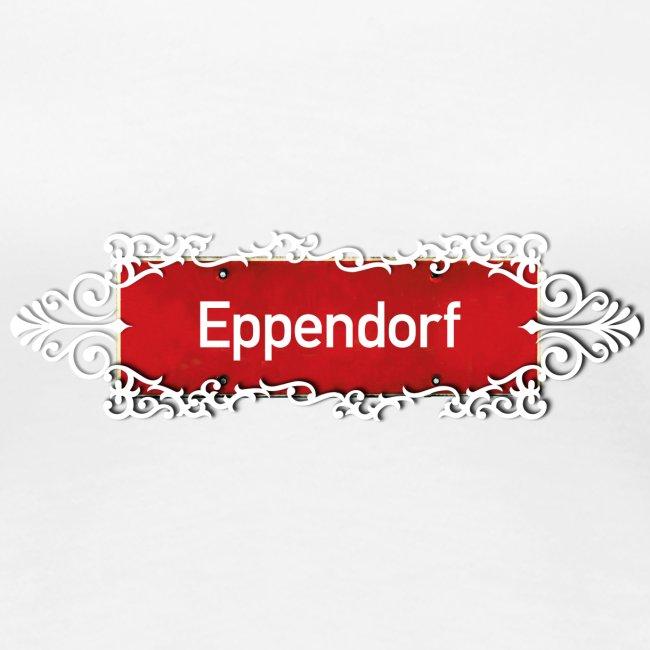 HAMBURG Eppendorf Ortschild mit Ornament