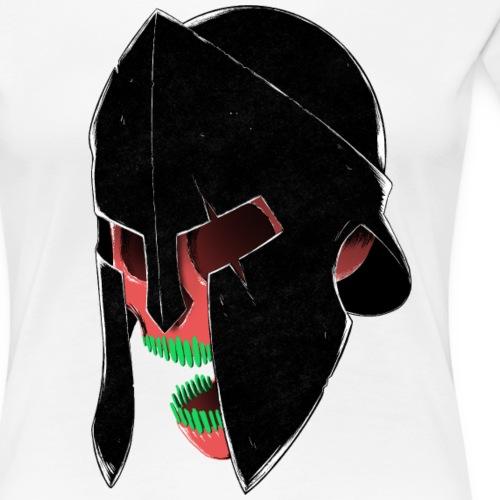 Spartan Skull - Frauen Premium T-Shirt