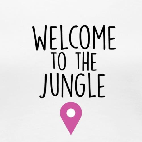 welcome to the jungle - Maglietta Premium da donna