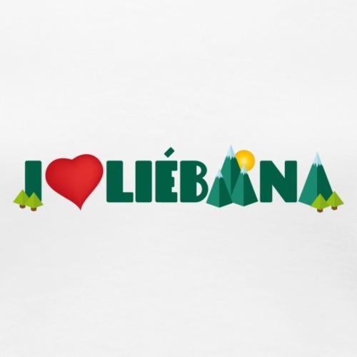 Love Liébana - Camiseta premium mujer