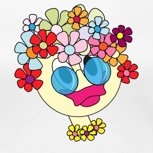 flowergirl soft - Frauen Premium T-Shirt