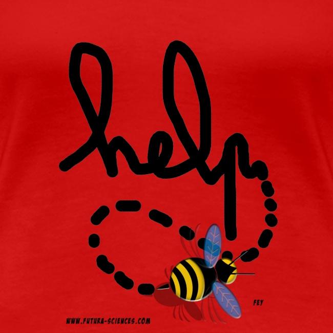 bee help texte noir