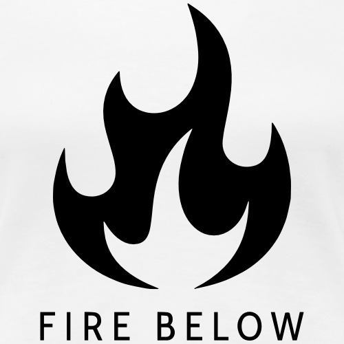 Fire Below EP Design - Black