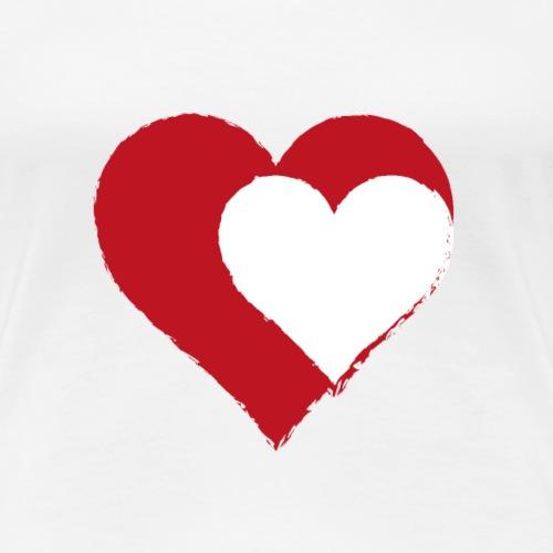 2LOVE - Dame premium T-shirt