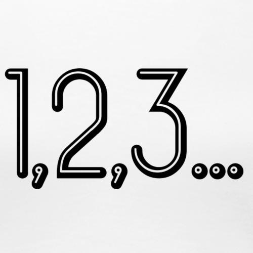 123.... - T-shirt Premium Femme