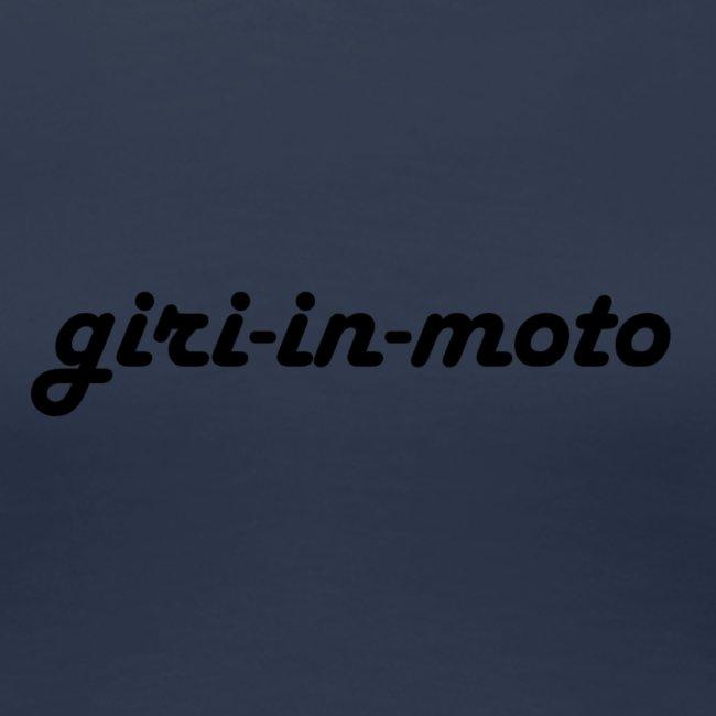 GIRI IN MOTO LIFESTYLE LADY NERO