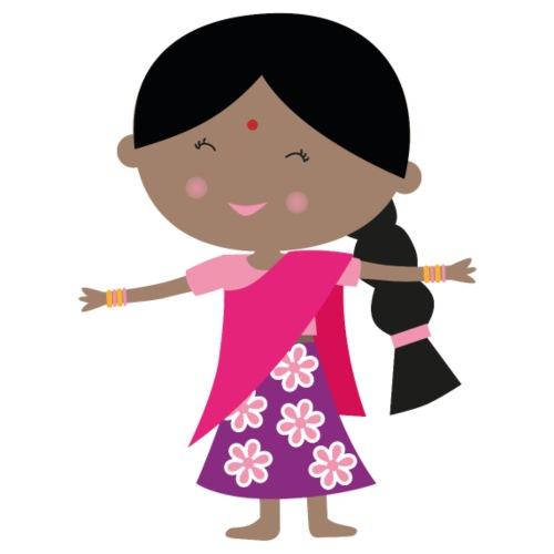 Happy Meitlis - Indien - Frauen Premium T-Shirt