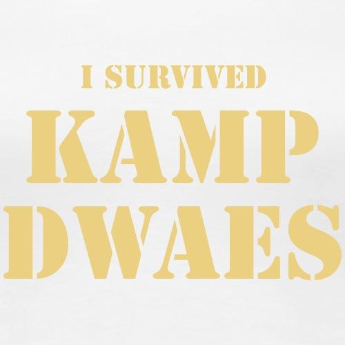 Kamp Dwaes - Vrouwen Premium T-shirt