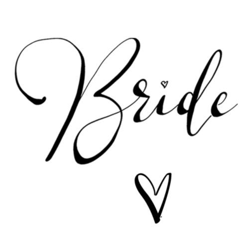 Team Bride BRAUT n°1 - Frauen Premium T-Shirt