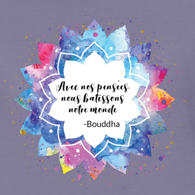 Citation positive de Bouddha