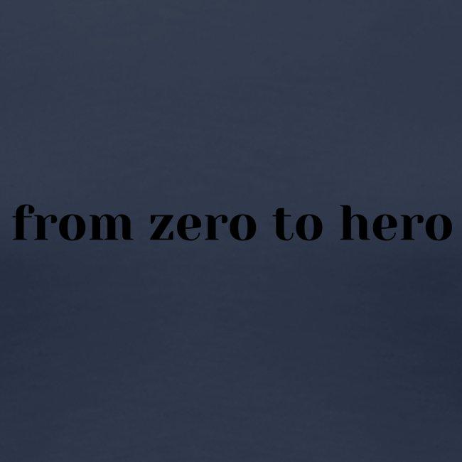 from zero to hero, king, majestic, stunning
