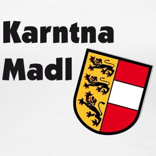 Karntna Madl - Frauen Premium T-Shirt
