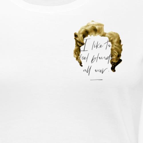 Sassy Lassie - Marilyn Monroe. - Women's Premium T-Shirt