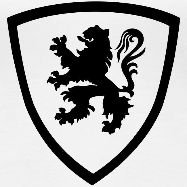 Bouclier flamand - Flanders De Leeuw