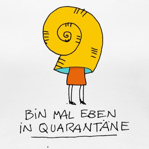 Quarantäne - Frauen Premium T-Shirt
