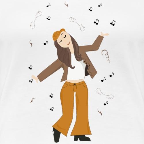 Juste danser !! - T-shirt Premium Femme