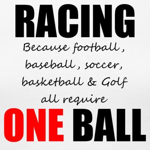 Racing - Vrouwen Premium T-shirt