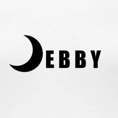DEBBY - BLACK LOGO - Maglietta Premium da donna