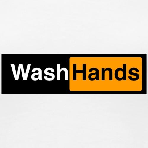 WashHands - Camiseta premium mujer