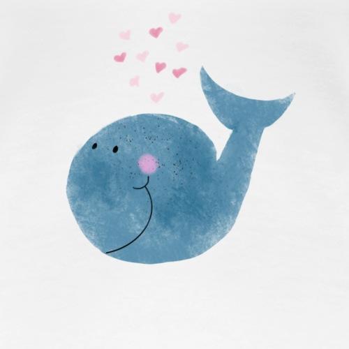 Happy Whale - Frauen Premium T-Shirt