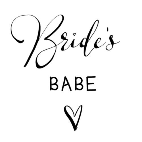 Team Bride BRIDES BABE n°2 - Frauen Premium T-Shirt