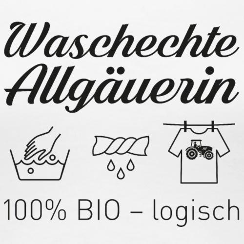 Waschechte Allgäuern - Frauen Premium T-Shirt