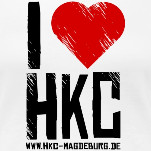 I Love HKC - Frauen Premium T-Shirt