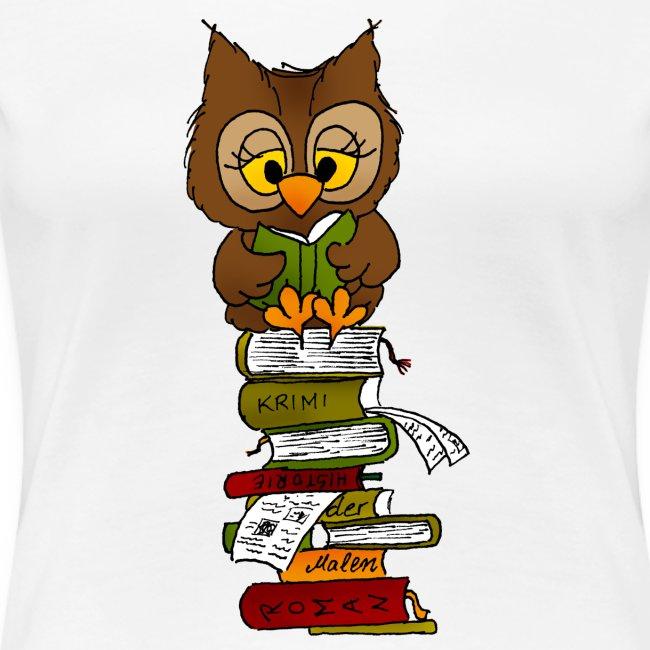 Büchereule Leseeule