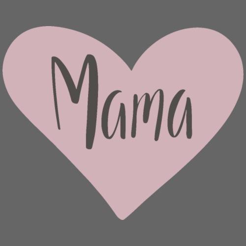 Mama - hjärta