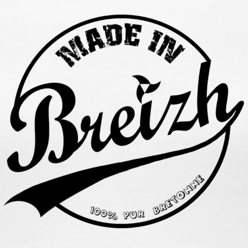 Made in Breizh 100% pur bretonne - T-shirt Premium Femme