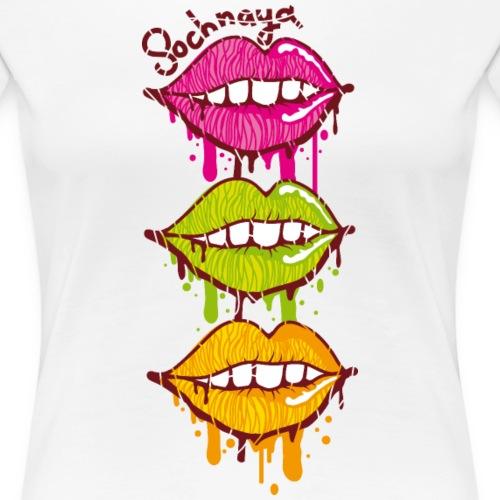 Сочная / Sochnaya - Frauen Premium T-Shirt