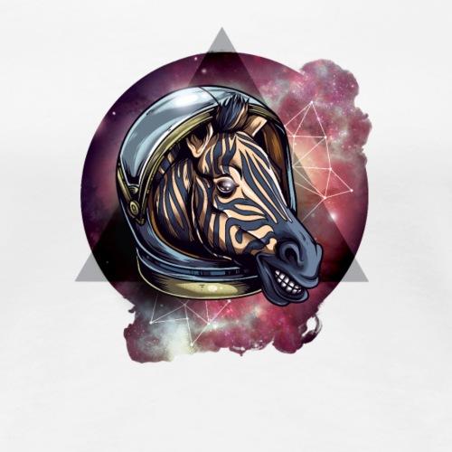 Cosmic zebra - Koszulka damska Premium