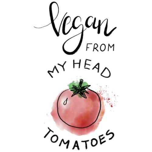 Vegan from my head Tomatoes - Frauen Premium T-Shirt