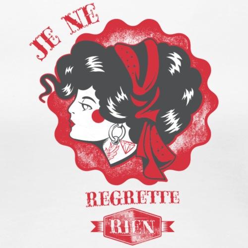 No regrets - Frauen Premium T-Shirt
