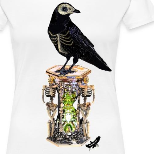 'Memento Mori' by BlackenedMoonArts - Dame premium T-shirt