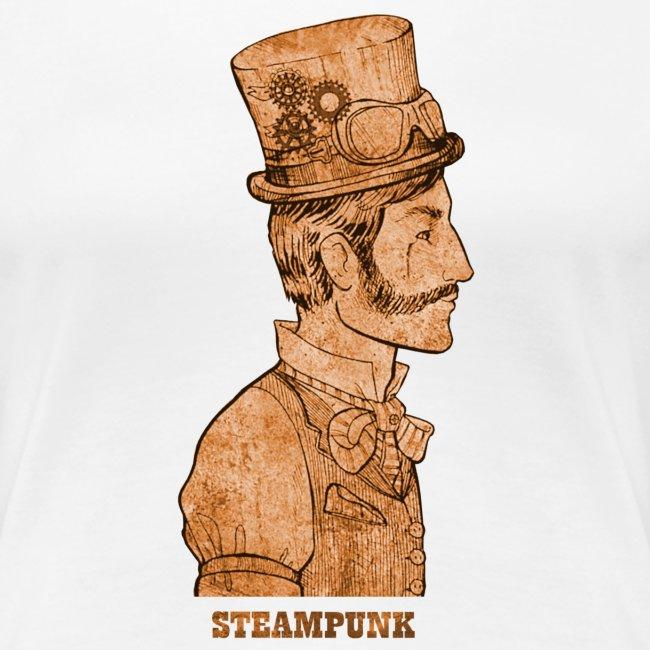 Steampunk Mann Zylinder